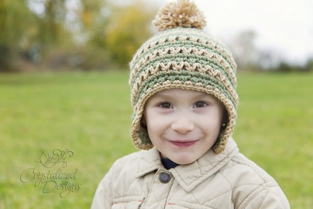 Toboggan Beanie by Crystalized Designs