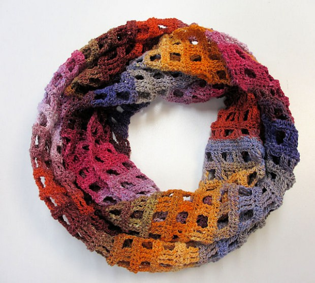 Windowpane Scarf by Make1 Designs