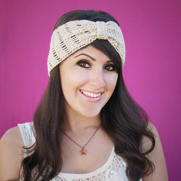 october nights headband by Gleeful Things