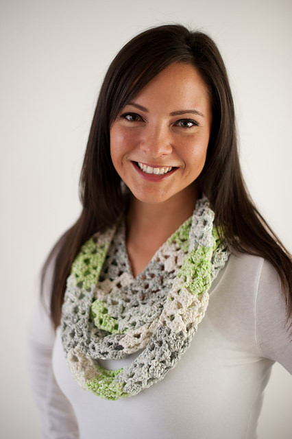 Boardwalk Infinity Scarf by Danyel Pink Designs