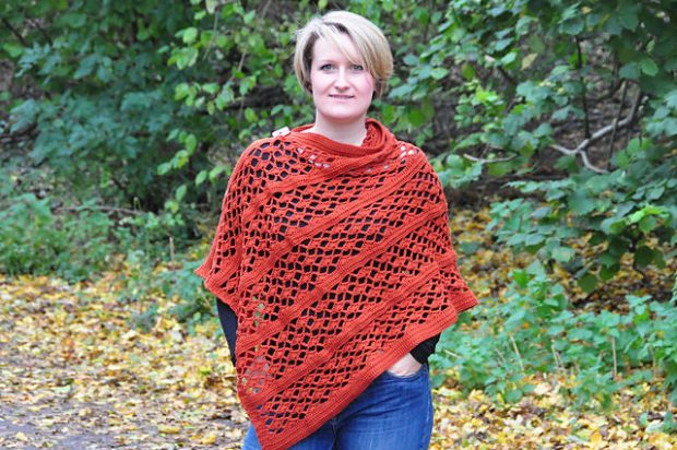 Picante Wrap by HanJan Crochet