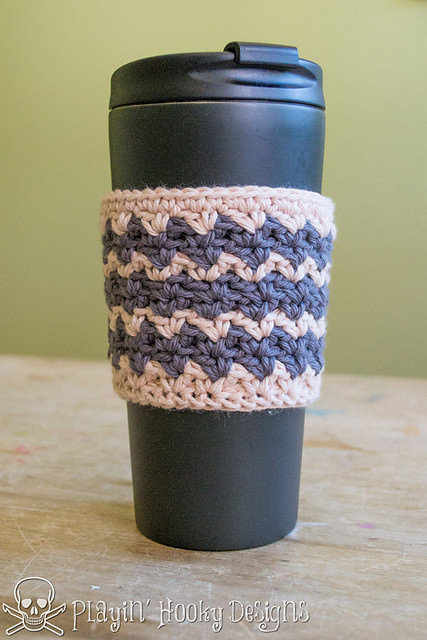 Ziggy Coffee Cozy by Playin' Hooky Designs