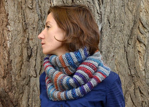 Forest Fog Cowl by Lilla Bjorn Crochet