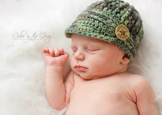 Freedom Fighter Newsboy Cap by Crochet by Jennifer