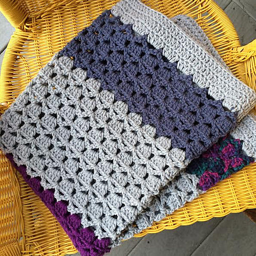 Medley Blanket by Salena Baca Crochet