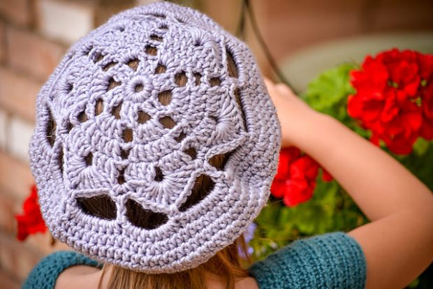Star Motif Slouch by Em's Corner