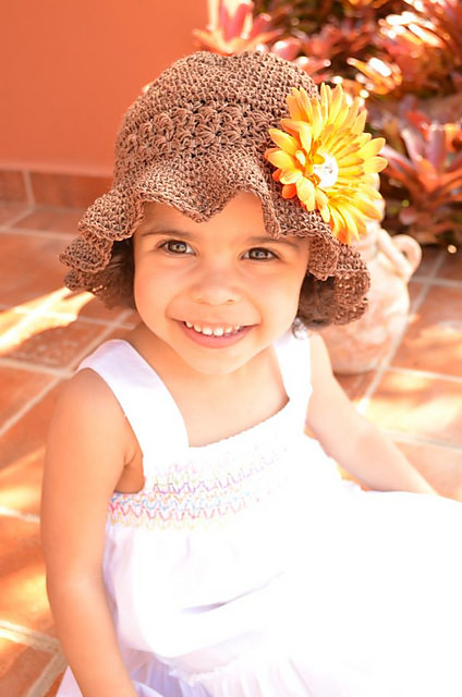 Starlight Sunhat by Crochet by Jennifer