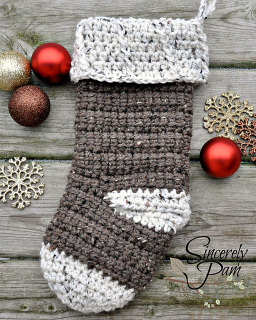 Alex Christmas Stocking by Sincerely Pam