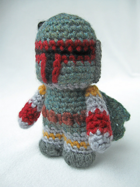 Boba Fett - Star Wars Mini Amigurumi by Lucy Collin