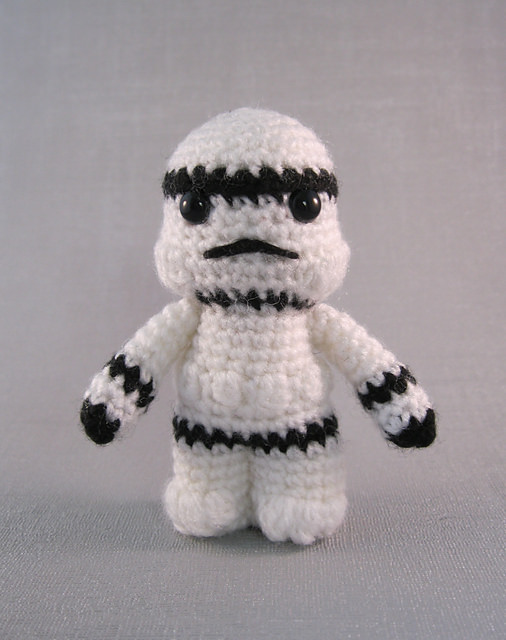 Stormtrooper - Star Wars Mini Amigurumi by Lucy Collin