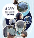 8 Grey Hats With Texture