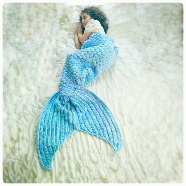 Emma-Noel Mermaid Tail by CoCo Crochet
