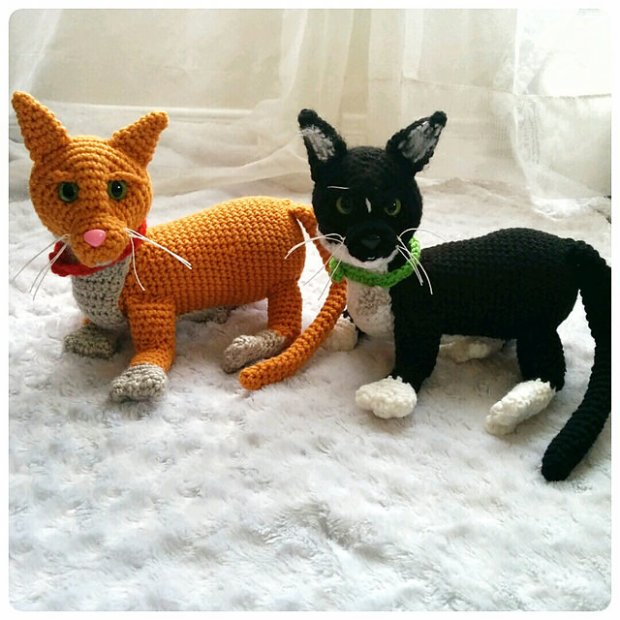 Ginger and Molly Kitten by CoCo Crochet Lee