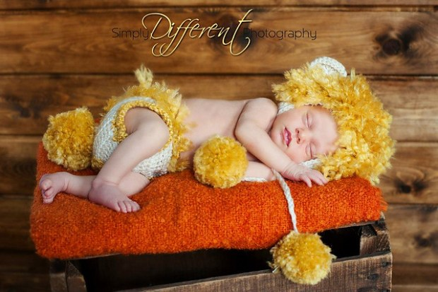 Lion Newborn to 12 Months by Briana K Crochet