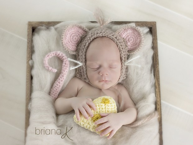 Littlest Mouse by Briana K Crochet