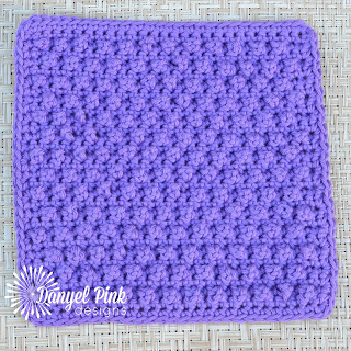 July 25- Blackberry Dishcloth by Danyel Pink Designs