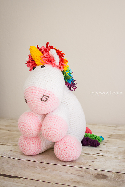 Rainbow Cuddles Unicorn by ChiWei Ranck