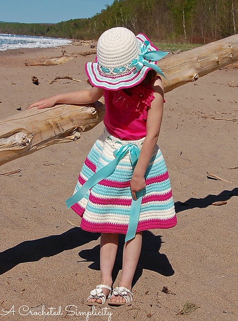 Sweet & Sassy Twirly Skirt by Jennifer Pionk