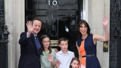 PM David Cameron and his family leave Downing Street for the last time Pictured: David Cameron Ref: SPL1317649  130716 Picture by: Martin Daniel Evans  / Splash Splash News and Pictures Los Angeles:310-821-2666 New York:212-619-2666 London:870-934-2666 photodesk@splashnews.com