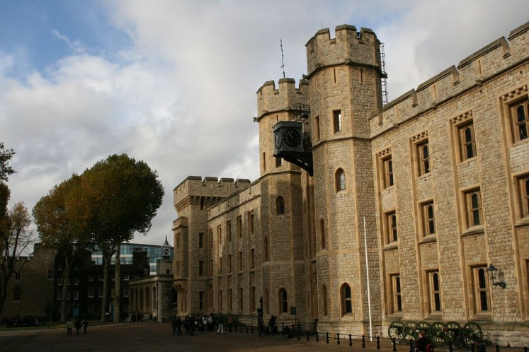 The Crown Jewels are housed at the Hewel house in the Tower of London . C C Chapman