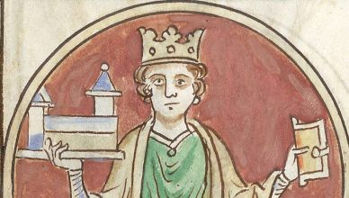 Henry I was buried at Reading abbey - have his remains been found? (wikimedia commons)
