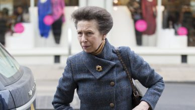 Princess Anne has been to hospital for a chest infection; she has cencelled engagements (i-Images)