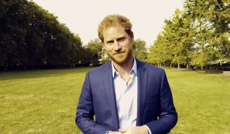 prince Harry is asking London Marathon runners to support Heads Together in his video message