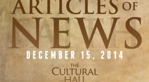 Articles of News/Week of December 15th