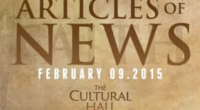 Articles of News/Week of February 9th