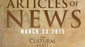 Articles of News/Week of March 23rd