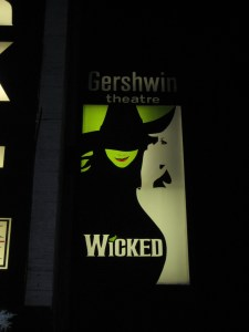 Wicked at the Gershwin Theater