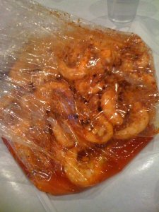Shrimp at Boiling Crab