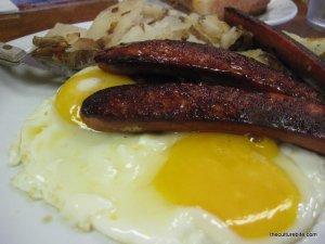 Tygers Louisiana Sausage Breakfast