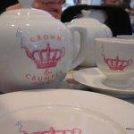 Crown and Crumpet Tea Pot