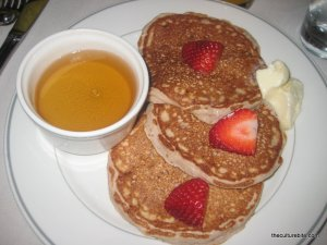 Delancy Street Restaurant Strawberry Pancakes