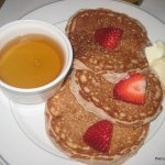Delancy Street Restaurant Strawberry Pancakes