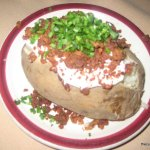 House of Prime Rib Baked Potato