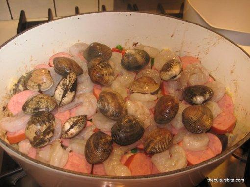 Paella Add Seafood