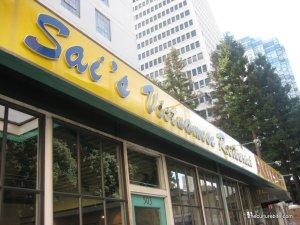 Sais Restaurant Storefront