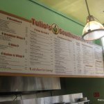 Tulio's Southwestern Grill Menu