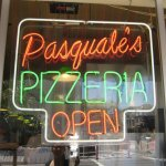 Pasquales Pizza Sign
