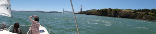 SF Bay Sailing Golden Gate Bridge