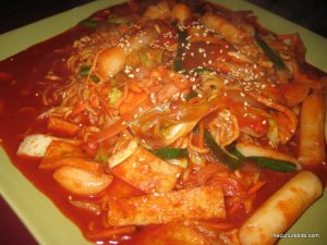 The Spot Spicy Rice Cake