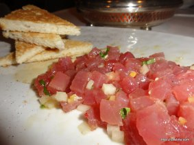 Michael Mina Tuna Tartare Mixed