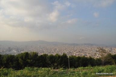 Barcelona Castell de Montjuic View
