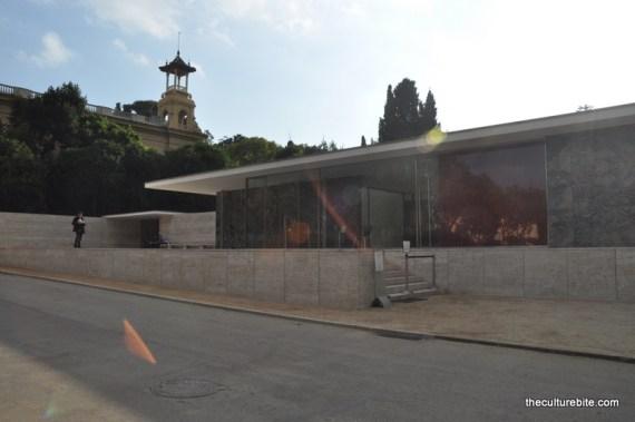 Barcelona Mies van der Rohe Pavilion
