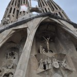 Barcelona Sagrada Familia Jesus Cross