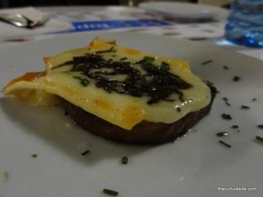 Barcelona Tapa Tapa Brie Truffles