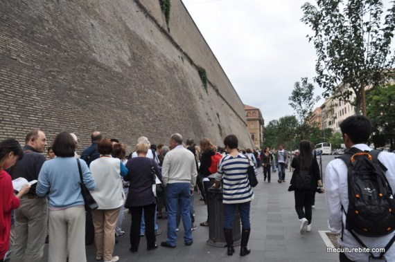 Rome Vatican Line