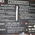American Grilled Cheese Menu